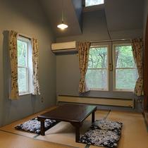 *【和室7.5畳一例】お布団4組敷ける、モダンな和室7.5畳