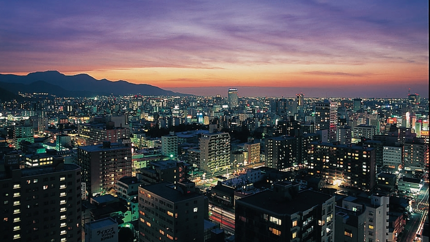 山側夜景(マウンテンビュー)