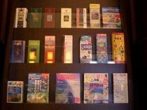 無料パンフレット&ガイドブック(1階ロビーにございます)。観光・仕事でご活用くださいませ。