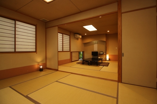 和室10畳+8畳の続き間(5名〜9名)