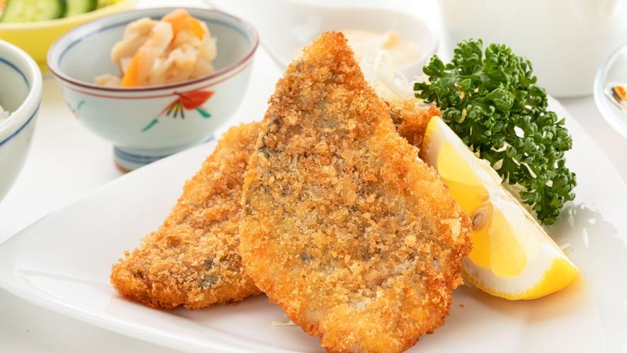 【橘湾産海鮮フライディナー】