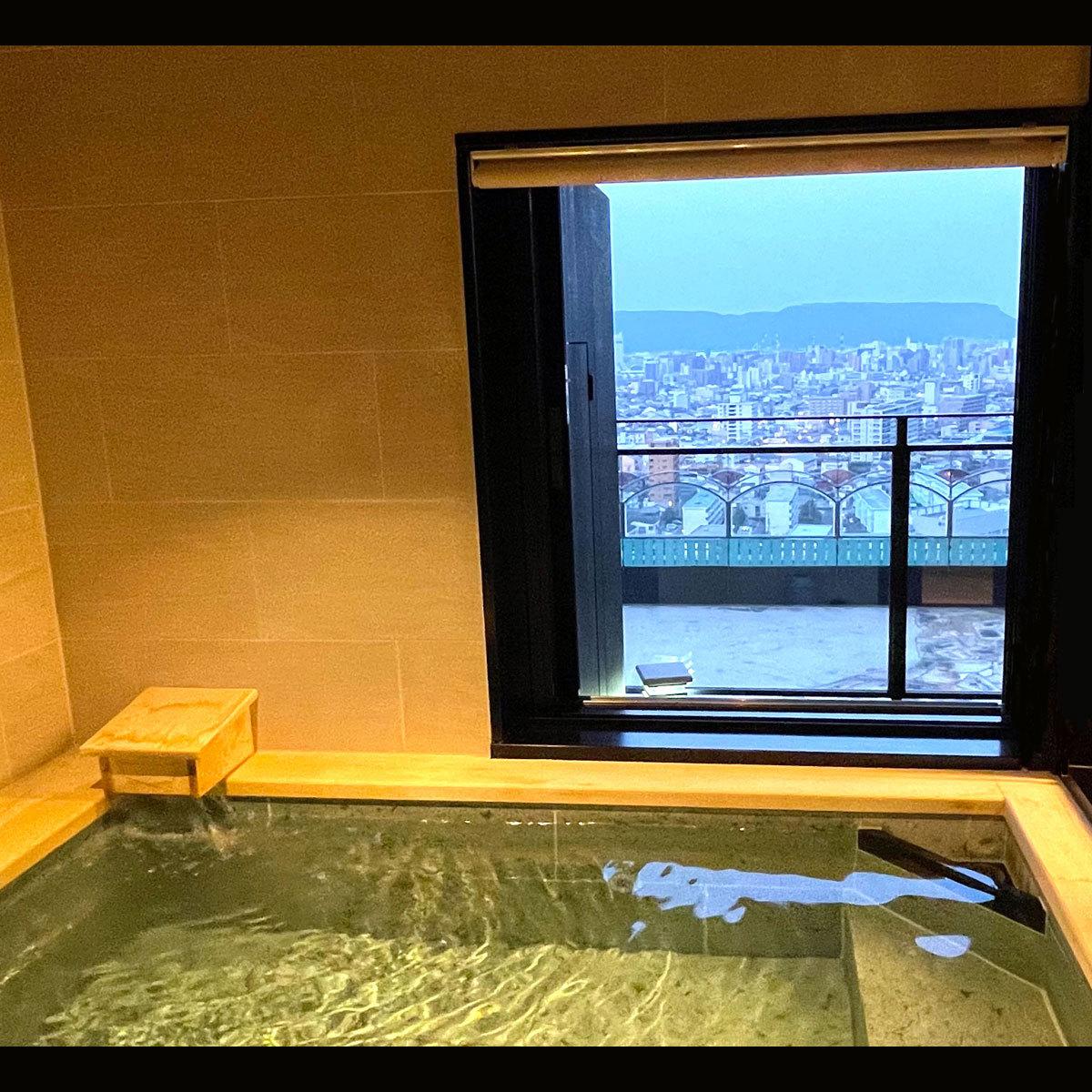 最上階◆天然温泉◆【展望風呂】シティ&屋島スイート