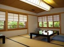 山桜 座敷