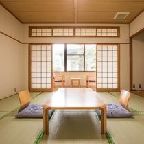 *【客室一例:和室10畳】のんびり♪ゆったり♪お寛ぎ下さい。