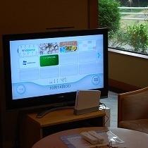 ロビーで任天堂Wii