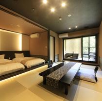 露天風呂付和洋室の一例
