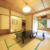 川沿いの和室の一例