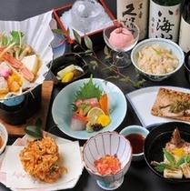 和食レストラン「銀座」会席料理イメージ