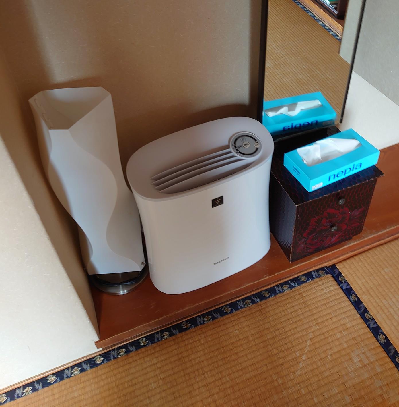和室 空気清浄機設置