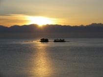立山からの朝日