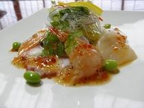魚介のカルパッチョ