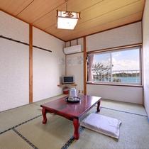 *【客室一例】海を見渡せる和室です。※一部海の見えないお部屋もございます