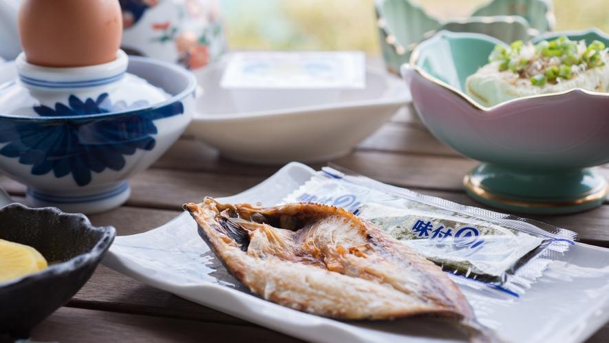 *【朝食一例】ご飯をおかわりしたくなるおかずがいっぱい!
