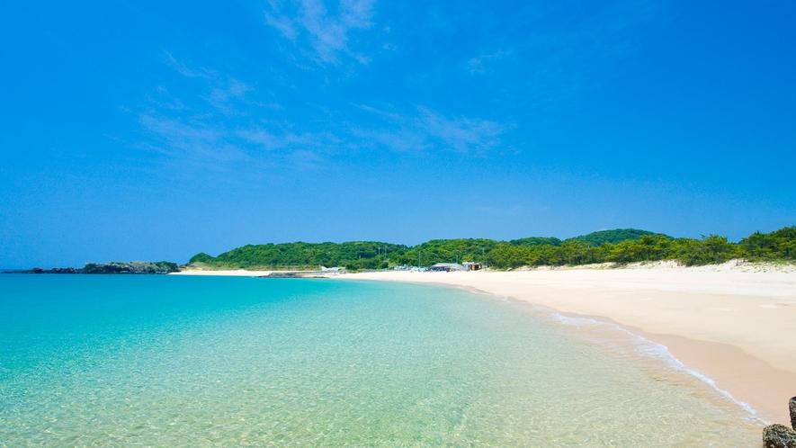 *【錦浜海水浴場】当館から車で約10分。壱岐一番のマリンスポーツのメッカ!壱岐の三大ビーチの一つ!