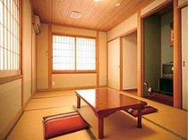 落ち着いた和風のお部屋です。
