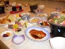 夕食  一例