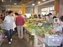 道の駅 富楽里 野菜の直売所はいつでも人気