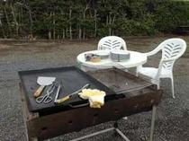 BBQは通年OK器材レンタル一式で5000円(10名くらいまで可能)