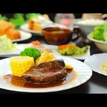 【夕食】柔らかい牛肉の煮込み