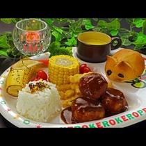 【幼児★夕食】きょうのメニューはミートボール♪