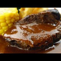 【夕食】8時間以上コトコト煮込んだ牛スネ肉のデミソース煮込み