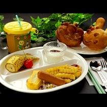 【幼児★朝食】手作りのキャラクターパンが嬉しいね