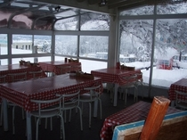 レストラン テラス側