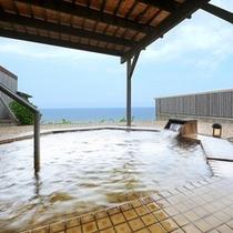 洋風浴室の露天風呂