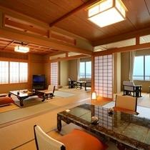 最上階の特別和洋室