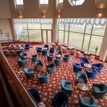 <館内施設>エレガントな雰囲気にラウンジ絨毯をリューアルしました♪