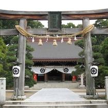 松陰神社:明治維新の立役者で萩が生んだ教育者、吉田松陰を祀る神社。