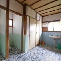 *【共同トイレ】お手洗いは水洗ではございません。予めご了承くださいませ。