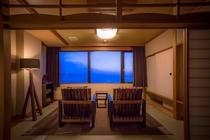 【最上階客室「天海」】幻想的な空の移ろいを眺める非日常の旅時間を。