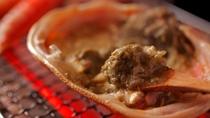 【焼きガニ】炭火で焼き上げた蟹味噌本来の甘みを存分にお愉しみいただけます!