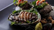 【天然黒アワビ】間人産の天然の黒アワビは磯の香りと食感を味わって♪