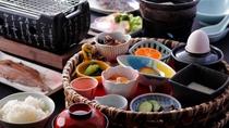 【朝食】当館のこだわり朝食♪女将手作りの田舎の朝ご飯は優しい味わい♪