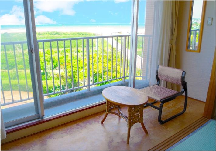 5階 客室からは九十九里浜を一望