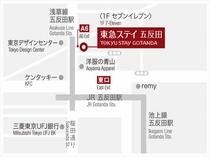 * 駅からの地図 *