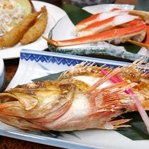 *夕食一例/脂が乗って身はふっくら♪新潟を代表する高級魚のどぐろ!