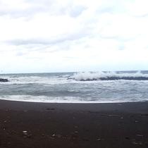 *冬の日本海/荒波が冬の厳しさを物語っております。