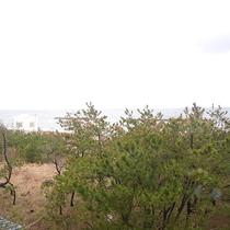 *3階和室からの眺望/最上階の3階のお部屋からは日本海を一望!