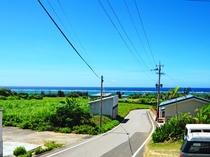 【周辺景色】島の中でも人気のビーチが近いお宿です☆