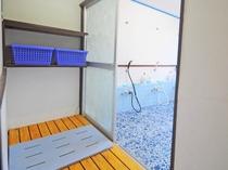 【浴室(共同・男子)】清潔感のある空間です