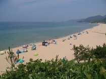 夏の琴引浜