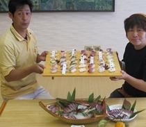 ピチピチにぎり寿司