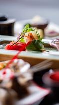 KAISEKI料理-婚礼一品の例