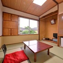 *和室6畳(客室一例)/一人旅やビジネスにオススメ!足を伸ばしてのんびりとお過ごし下さい。