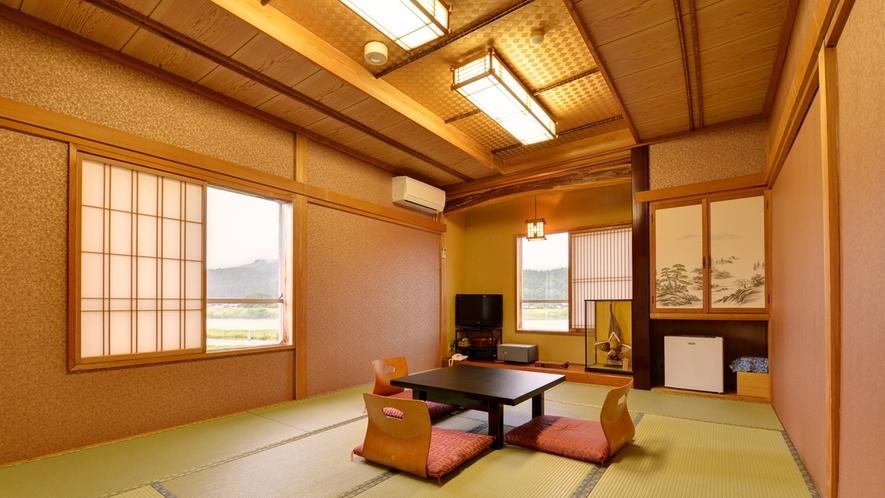 *和室10~12畳(客室一例)/グループやご家族でのご宿泊に◎広いお部屋で団欒のひと時