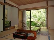 和の雰囲気が心を和ませる/風呂なし客室一例