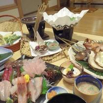*【夕食例】自分で選ぶ♪新鮮な海の幸をお楽しみ下さい。